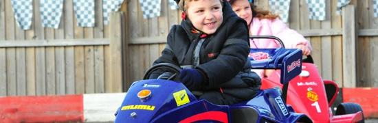 Lakeside Karting: Kids having fun