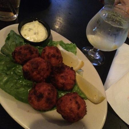 Westbrook Lobster: Clam Fritters!  So yummy!