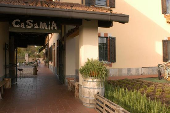 Casa Mia : ingresso garden