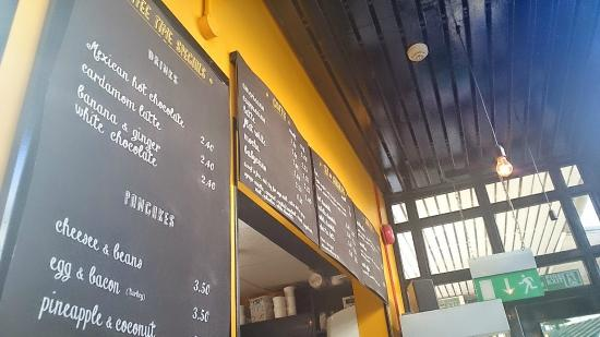 Coffee Time: A brief look at one of the menus