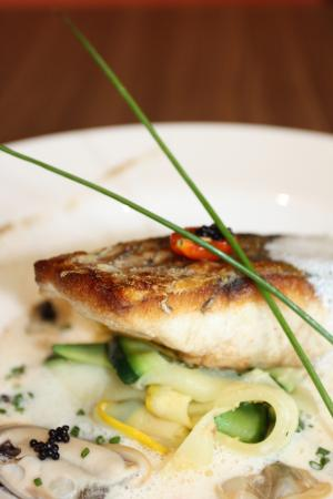 Pan Seared Barramundi - Picture of Greenwood Fish Market @Bukit