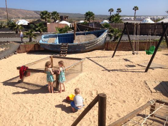 Finca de Arrieta: Playground at the finca