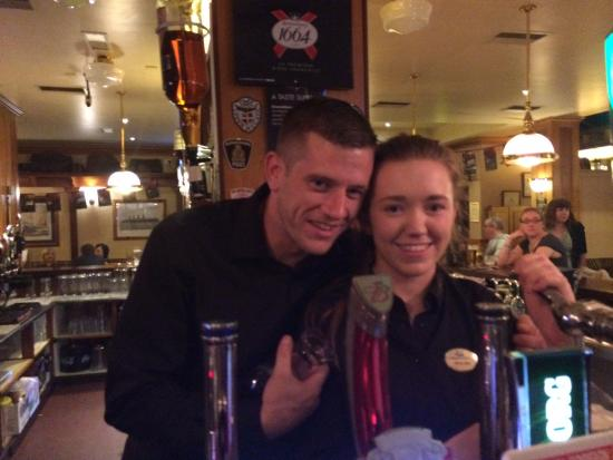 Dooley's Hotel Waterford: The greatest bartender ever...and his colleague