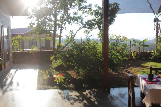 Casa Amanecer B&B: The view from our breakfast table