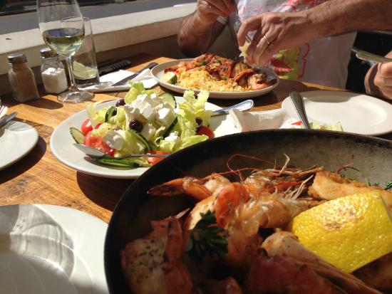 Chapmans Peak Hotel Restaurant: Hope you are hungry for seafood
