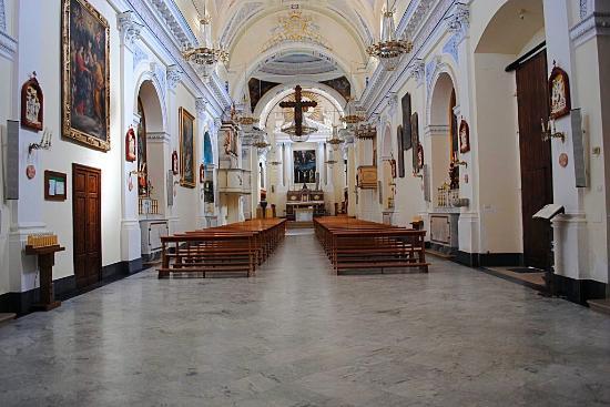 Butera, Italia: Interno della Chiesa Madre