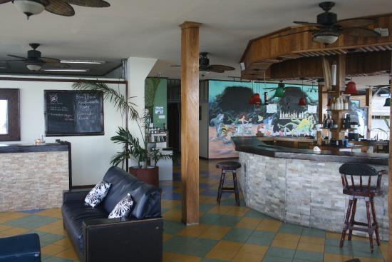Hotel Oasis: Recepción