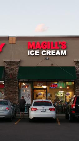 Magill's World of Ice Cream: Look for good times here!