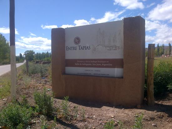 Barreal, Argentina: Entrada