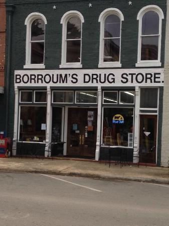 Borroum's Drug Store and Soda Fountain
