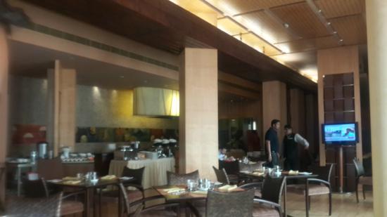 Bubble Cafe : The restaurant inside