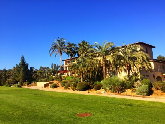 Sheraton Mallorca Arabella Golf Hotel: Blick vom Pitching-Green