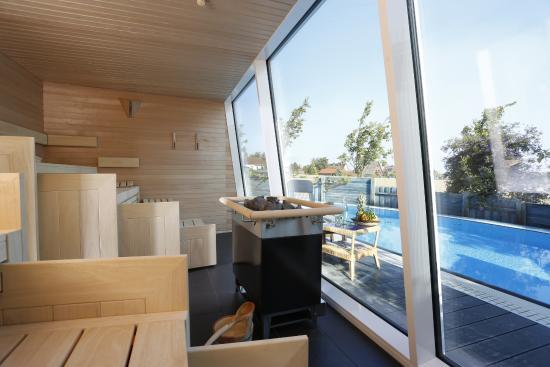 Landhotel am Rothenberg: Panorama-Sauna