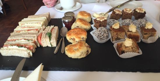 The Brasserie at Melville Castle : Afternoon tea