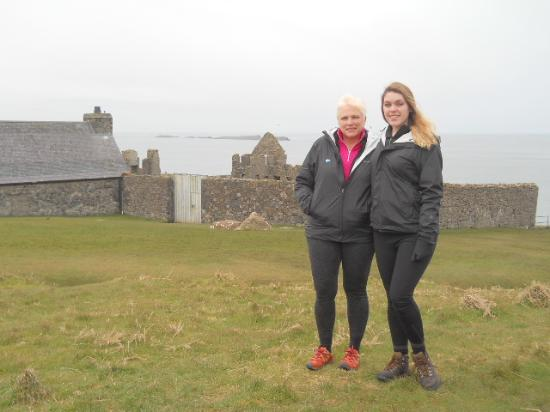 Pendragon Day Tours: at Dunluce Castle