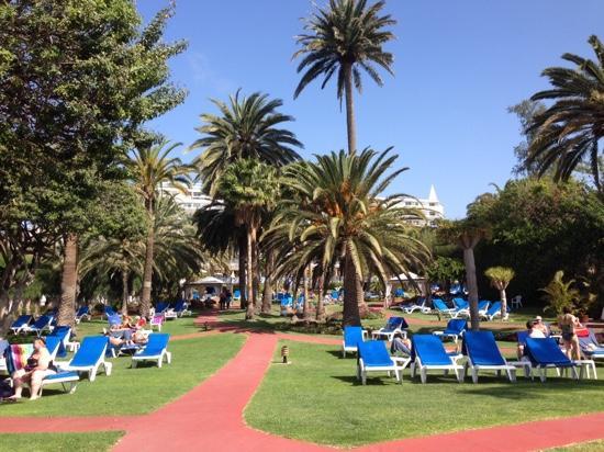 hotel costa canaria jardines exteriores