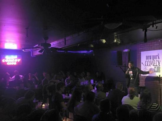 New York Comedy Club : Just a typical Friday night w/ our PACKED house!