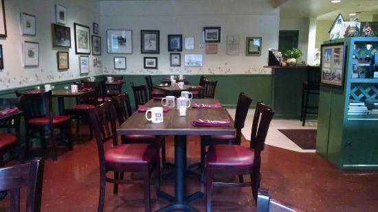Frederick House: Breakfast was wonderful!