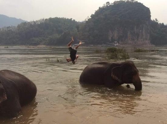 Luang Prabang Province, Laos : Fun!