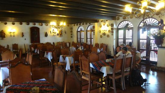 Santo Tomas Hotel: comedor