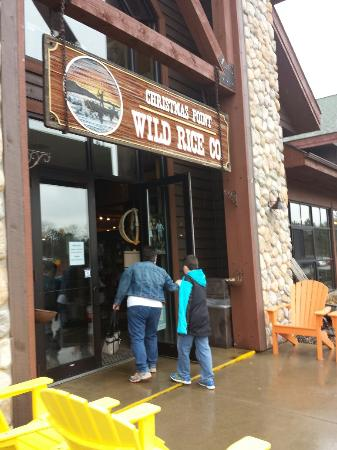 Great lunch picture of christmas point wild rice company baxter