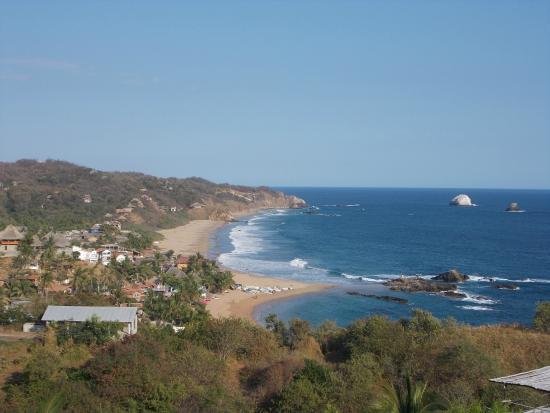 Hotel Posada Arigalan: View of San Agustillo Beach