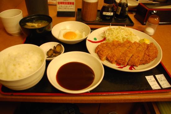 Meshiya Miyamoto Munashi JR Kurashiki Station Entrance Ekimae