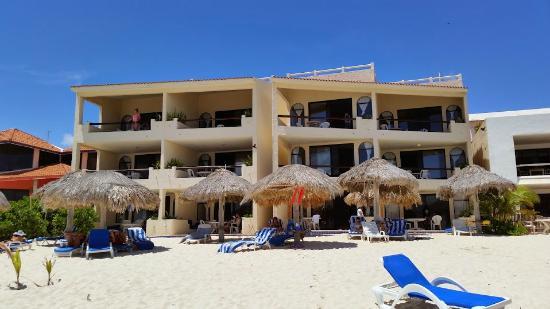 Villas Derosa Beach Resort View From Water