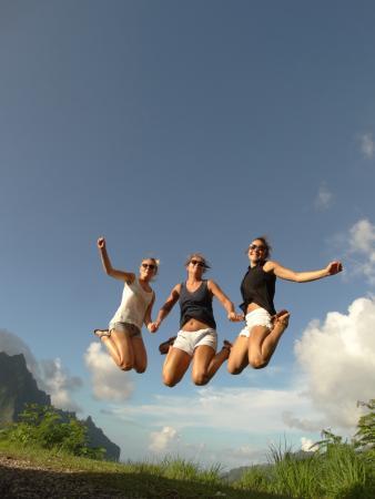 FranckyFranck Moorea Tours : Magnifique jump au Belvedére de Moorea