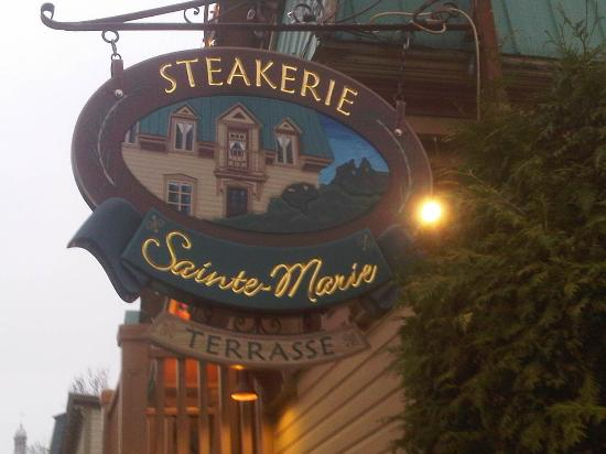 Steakerie Le Sainte-Marie: Bienvenue