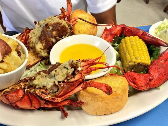Fisherman's Cove Seafood: Stuffed Lobster