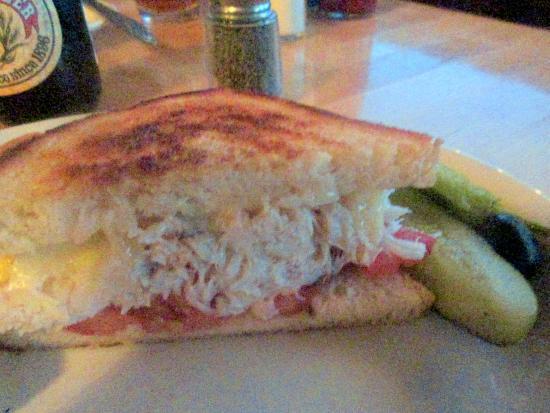 Crab Sandwich - Ketch Joanne Restaurant & Bar, Half Moon Bay, Ca