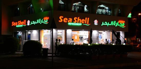 Sea Shell Refreshment