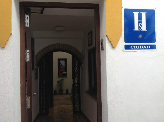 Hospederia Alma Andalusi: ACCESO
