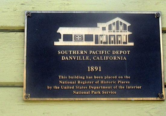 Museum Of The San Ramon Valley Danville Ca Historic Depot