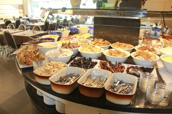 La Jonquera, España: het buffet