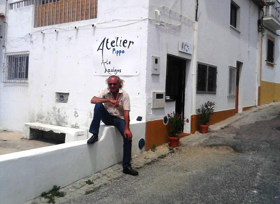 Sao Luis, Portugal: Der Künstler Vincent