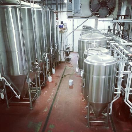 Mayflower Brewing Company : The brewery