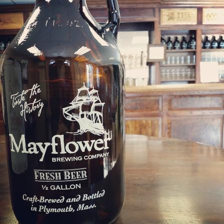 Mayflower Brewing Company : 64 oz growlers