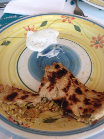 Paratha With Chicken Mince Picture Of Paratha Express
