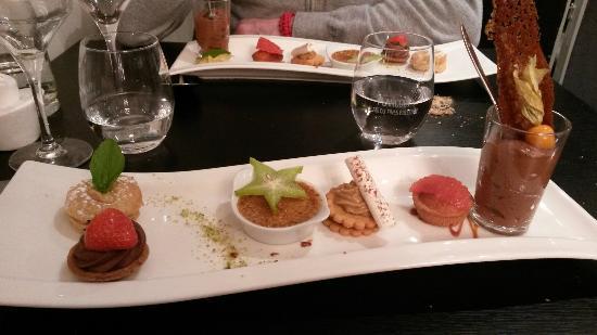 Lamballe, France : Déclinaison de desserts