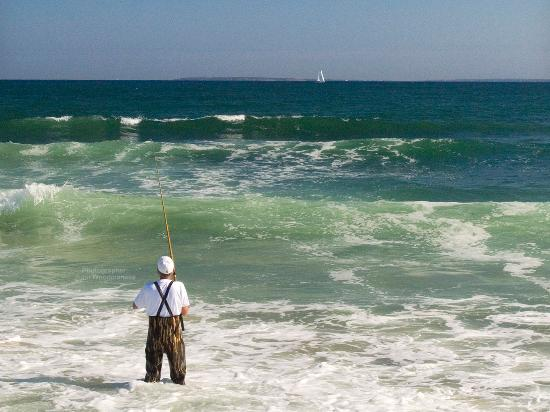 South County, RI: Fishing at Charlestown Beach, photographer: John Woodmansee