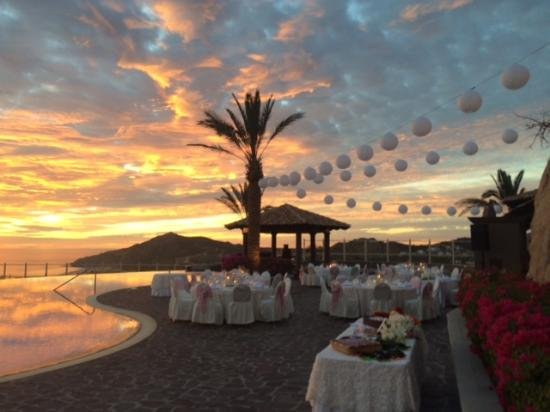 Pueblo Bonito Sunset Beach Golf Spa Resort Wedding Reception