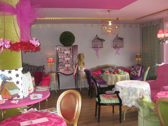 pi ce mont e choux bapteme couleur th me bonbons bild fr n la vie en rose coustellet. Black Bedroom Furniture Sets. Home Design Ideas