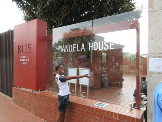 Nelson Mandela S Home In Vilakazi Street Location