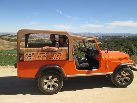 Central Coast Jeep Tour Adventures