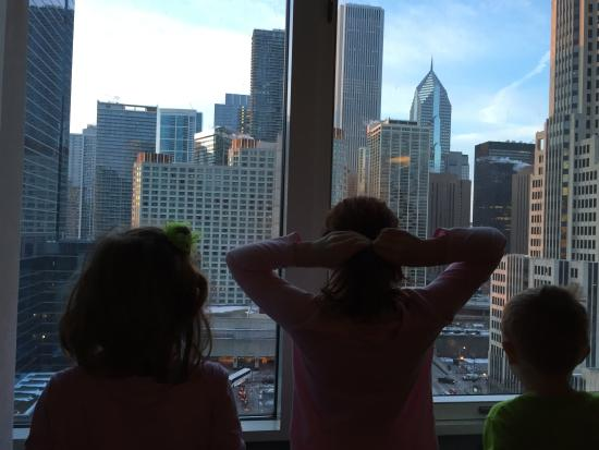kids loved waking up to this view picture of embassy suites by rh tripadvisor com