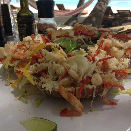Playa Tao Beach Club & Restaurant: Aragosta alla catalana