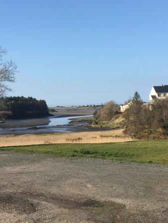 Ostan Loch Altan: The loch with the tide out