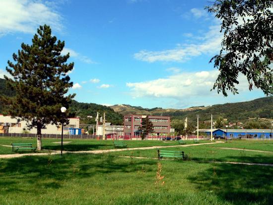 Targu Ocna, رومانيا: Parcul Magura